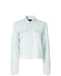 Camisa de vestir celeste de RtA