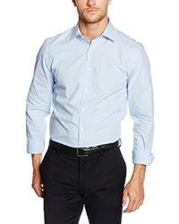 Camisa de vestir celeste de s.Oliver