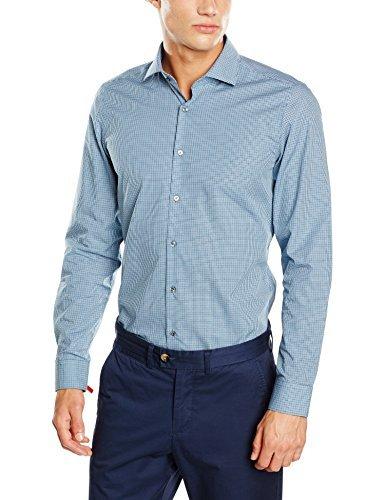 Camisa de vestir celeste de Strellson Premium