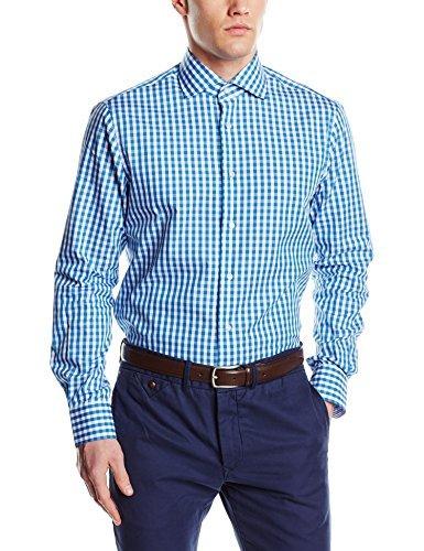 Camisa de vestir celeste de Tommy Hilfiger