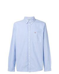 Camisa de vestir celeste de Tommy Jeans