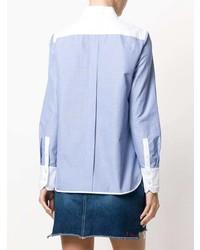 Camisa de vestir celeste de Tory Burch
