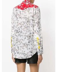 Camisa de vestir con print de flores blanca de Rag & Bone