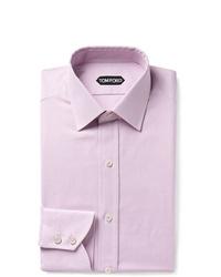 Camisa de vestir de cuadro vichy rosada de Tom Ford