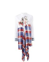 Camisa de vestir de patchwork blanca de Antonio Marras
