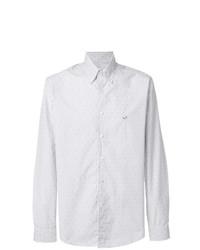 Camisa de vestir de rayas verticales blanca de Etro