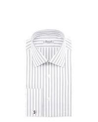 Camisa de vestir de rayas verticales