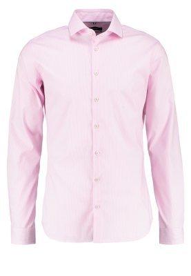 Camisa de Vestir de Rayas Verticales Rosada de Seidensticker