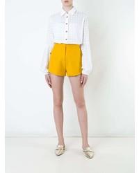 Camisa de vestir de seda blanca de Macgraw