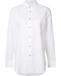 Camisa de vestir de seda blanca de Rag & Bone