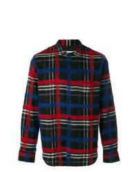 Camisa de vestir de tartán en multicolor