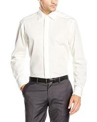 Camisa de Vestir en Beige de Casamoda