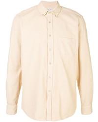Camisa de vestir en beige de Portuguese Flannel