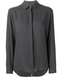 Camisa de vestir en gris oscuro original 2134923