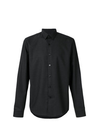 Camisa de vestir en gris oscuro de AMI Alexandre Mattiussi