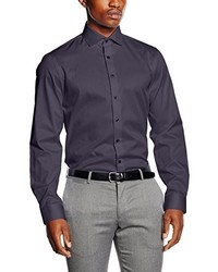 Camisa de vestir en gris oscuro de Calvin Klein