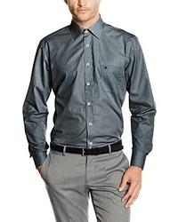 Camisa de vestir en gris oscuro de Casamoda