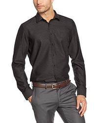 Camisa de vestir en gris oscuro de Seidensticker