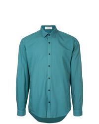 Camisa de vestir en verde azulado de Cerruti 1881