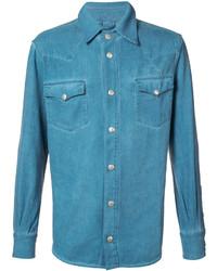 Camisa de vestir en verde azulado de Vivienne Westwood