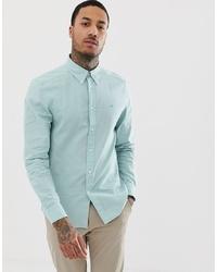 Camisa de vestir en verde menta de Calvin Klein
