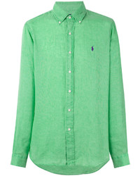 Camisa de Vestir en Verde Menta de Ralph Lauren
