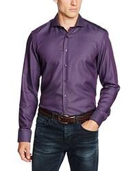 Camisa de vestir en violeta de Eterna Mode GmbH
