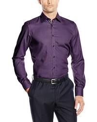 Camisa de vestir en violeta de Venti