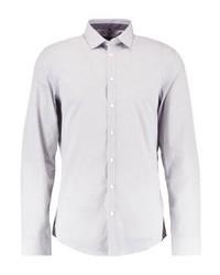 Camisa de Vestir Estampada Gris de Seidensticker