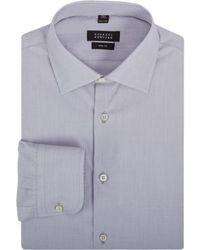 Camisa de vestir gris original 358020