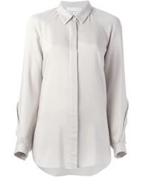 Camisa de vestir gris de 3.1 Phillip Lim