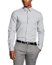 Camisa de vestir gris de Calvin Klein