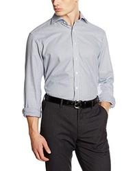 Camisa de vestir gris de Eterna Mode GmbH