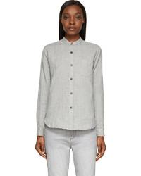 Camisa de vestir gris de Etoile Isabel Marant