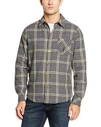 Camisa de vestir gris de Luis Trenker
