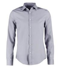 Camisa de Vestir Gris de Pier One
