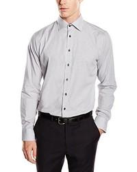 Camisa de vestir gris de Schwarze Rose