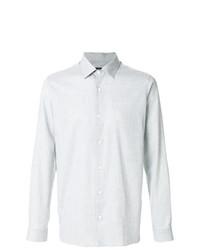 Camisa de vestir gris de Z Zegna