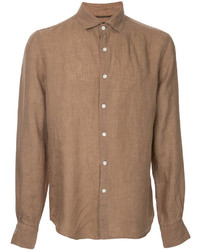 Camisa de vestir marrón claro de ESTNATION
