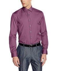 Camisa de vestir morado de Calvin Klein