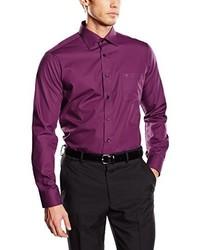 Camisa de vestir morado de Casamoda