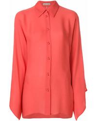 Camisa de vestir naranja de Emilio Pucci
