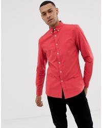 Camisa de vestir naranja de Farah