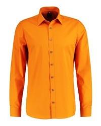Camisa de Vestir Naranja de Olymp