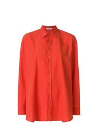 Camisa de vestir naranja de Tomas Maier