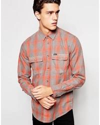 Camisa de Vestir Naranja de Wrangler