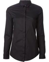 Camisa de vestir negra original 1278807