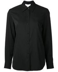 Camisa de vestir negra de 3.1 Phillip Lim