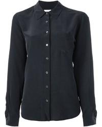 Camisa de Vestir Negra de Equipment