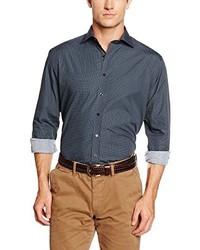 Camisa de Vestir Negra de Eterna Mode GmbH
